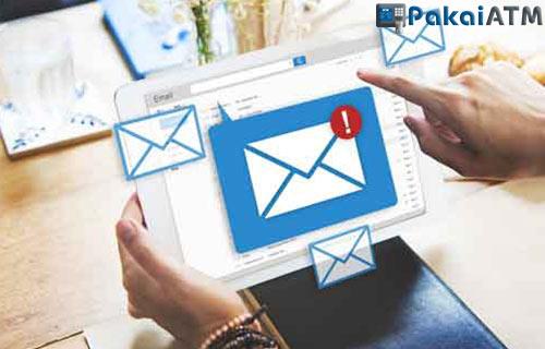 1. Mengatasi Lewat Email