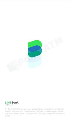 1. Pertama Buka Aplikasi LINE Bank