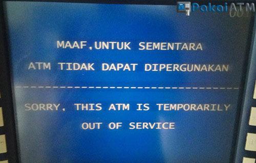 2. Mesin ATM Bermasalah