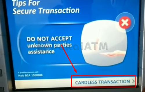 9. Kunjungi Mesin ATM BCA