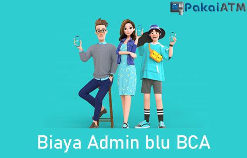 Biaya Admin blu BCA
