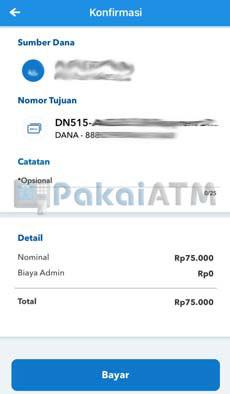 13. Konfirmasi Pembayaran DANA PayLater