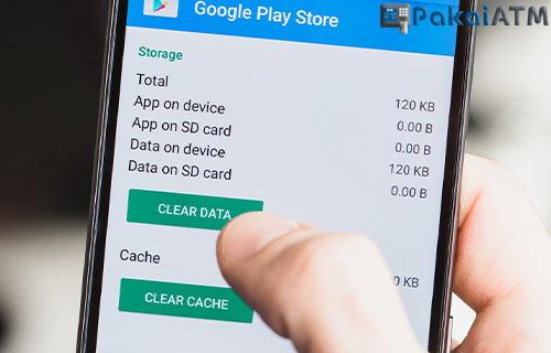4. Hapus Cache Data Aplikasi