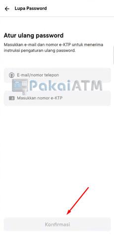 4. Masukkan E mail Nomor Telepon Nomor e KTP