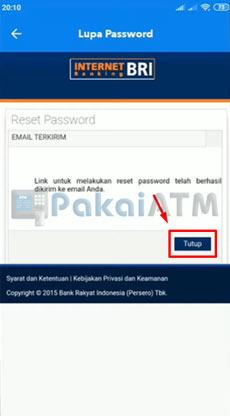 6. Email Terkirim