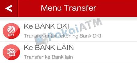 Arti Transfer On Us Bank DKI