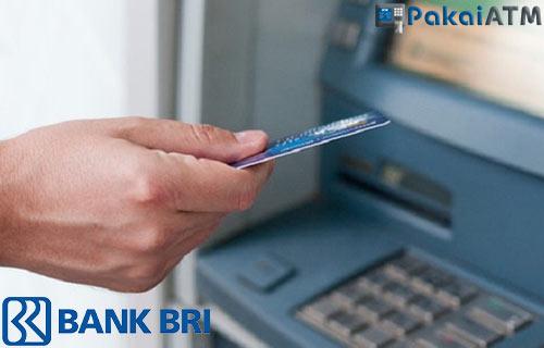 Cara Tarik Tunai Kartu Kredit BRI