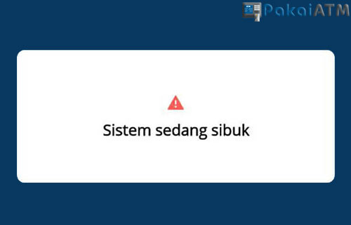 Penyebab Mandiri Online Error MW ATMJ