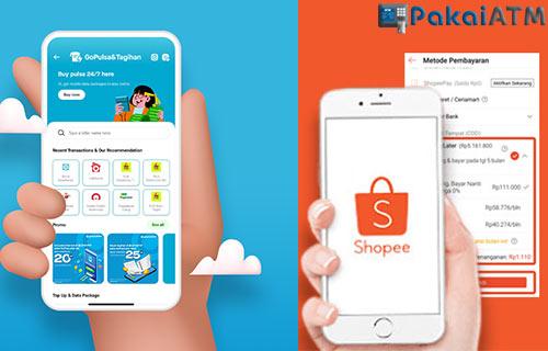 Pilih Shopee PayLater atau GoPayLater