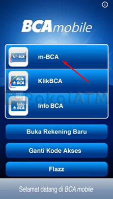 8. Buka Aplikasi BCA Mobile
