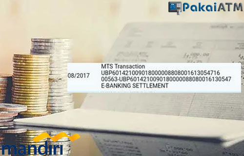 Arti Kode MTS Transaction Bank Mandiri