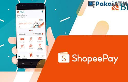Cara Top Up ShopeePay Lewat BNI Mobile