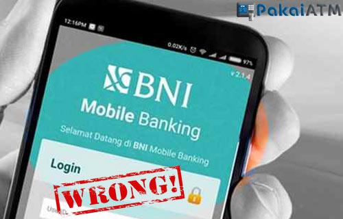 Penyebab BNI Mobile Tidak Bisa Login